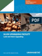 The Un-habitat Slum Upgrading Facility (Suf) Working Paper 10