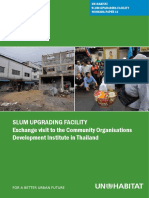 The Un-habitat Slum Upgrading Facility (Suf) Working Paper 11