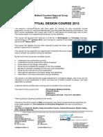 Conceptual design course 2013