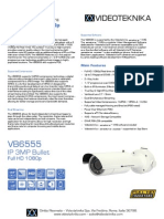 VB6555 - Videoteknika Bullet Camera - Data Sheet (1)