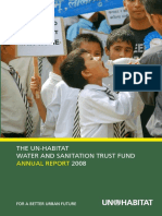 The UN-Habitat Water and Sanitation Trust Fund Annual Report 2008
