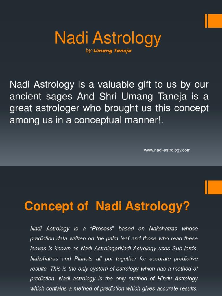 Nadi Astrology By Umang Taneja Astrology Prediction