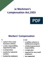 The Workmen's Compensation Act 1923