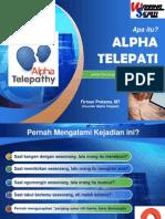 Alpha Telepati