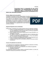Ajuda econòmica complementaria per a la realització d'estudis universitaris i practiques formatives en l'extranger en el marc del programa Erasmus pels/per a les estudiants de Quart de Poblet