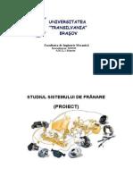 120190254 Studiul Sistemului de Franare