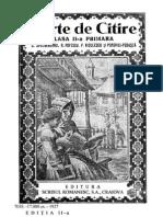 Carte de Citire Cl II Spulbereanu 1927 Perioada Interbelica Manual
