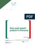 Nota Appalti Pubblici 27.01.2012_finale