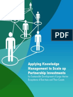 Applying Knowledge Management to Scale up Partnership Investments for Sustainable Development of Large Marine Ecosystems of East Asia and Their Coasts