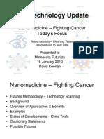 HO Nanotechnology for Cancer 16Jan2010