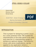 Project 2 _Motor Control Using a Solar Panel_1