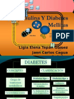 insulina y diabetes