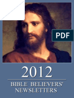Bible Believers' Newsletters 2012