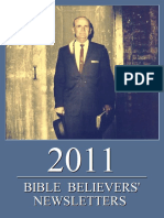 Bible Believers' Newsletters 2011
