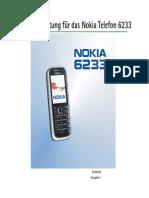 Nokia 6233 UG De