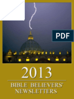 Bible Believers' Newsletters 2013