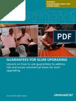 UN-HABITAT Slum Upgrading Facility Working Paper 9