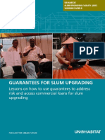 UN-HABITAT Slum Upgrading Facility Working Paper 9