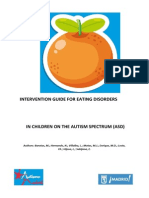 Intervention Guide for Eating Disorders in Children on the Autism Spectrum (ASD)