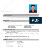 Vinoth Resume