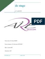 rapport de stage aire telecom Lionel JOST.pdf