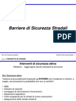 4. Barriere Di Sicurezza