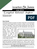 Riccarton St James July 2014 Magazine