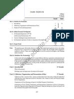 Class 11 Cbse Economics Syllabus 2013-14