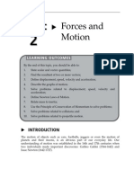 Topic 2 Forces and Motion