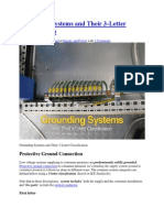 Grounding Systems and Their 3