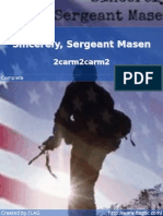 2carm2carm2 - Sincerely, Sergeant Masen