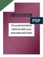 Exemple Enquetes