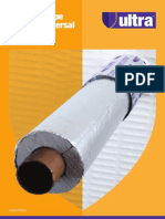 Ultra Uiversal Pipe Wrap/ Ulta Pipe Sleeve Brochure