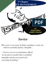 1st Chapter Service Management