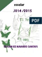 Agenda Emoacción Sección IES Navarro Santafé