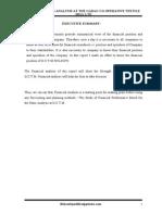 Aprojectreportonratioanalysisatthegadagco Operativetextilemillltd 120724214901 Phpapp02