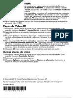 Manual da Placa de Video Hdmi da HP