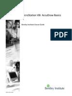 Microstation V8 - Accu Draw Basics