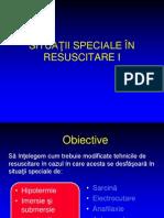 Situatii Speciale in Resuscitare I