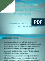 Evoluţia Cheltuielilor Publice Pentru Învăţământ În România