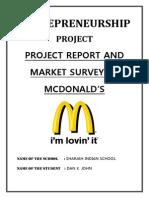 About Mcdonalds