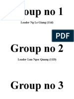 Group no board