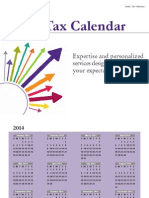 2014 Kevane Grant Thornton Tax Calendar