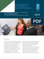 Carbon footprinting of Global Fund grant programmes