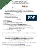 Cargo Transport Summit registration form