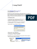 ổ đĩa C trong WinXP