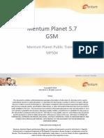 Mentum Planet 5.7 GSM