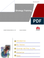 UMTS Multi-Carrier Strategy Training