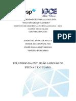 Relatório de geologia estrutural - Dobras e fraturas