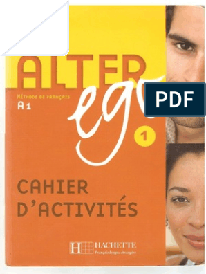 A1 Cahier Ego D'activitès Alter A4LRj5